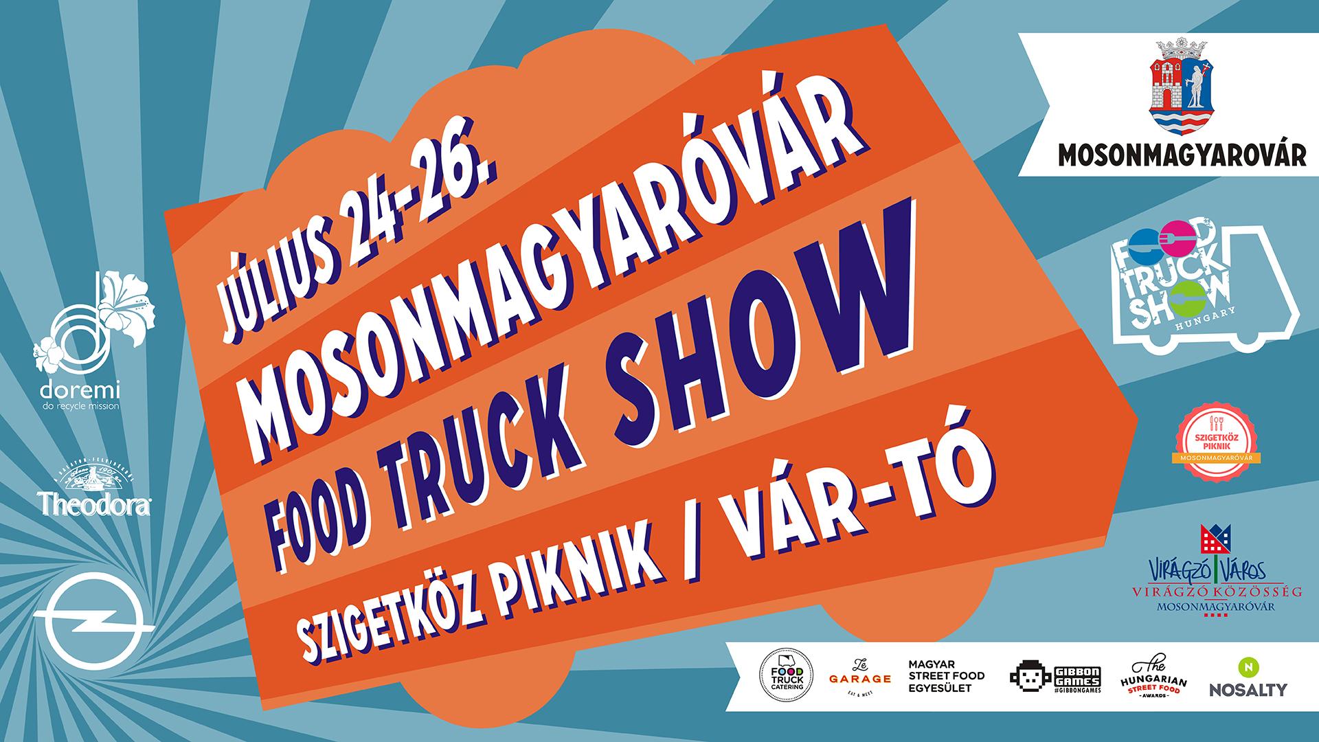 Food Truck Show Mosonmagyaróvár 2020, főkép